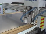 CNC machine for aluminum composite panels, MDF and wood
